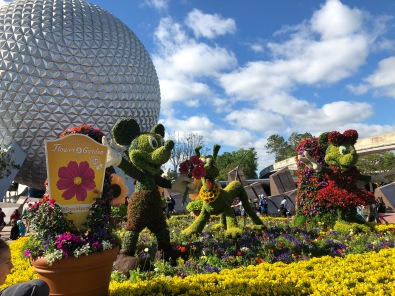 Epcot's Flower Show was amazing!