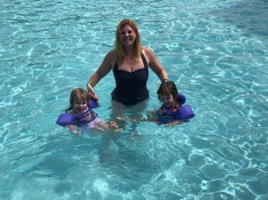 Swimming with Maman