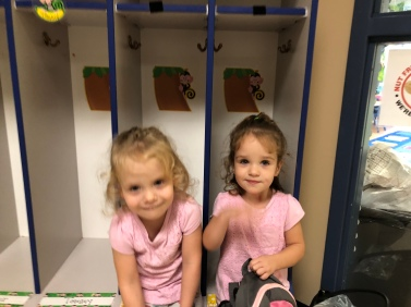 Our own little 'cubbies' as school