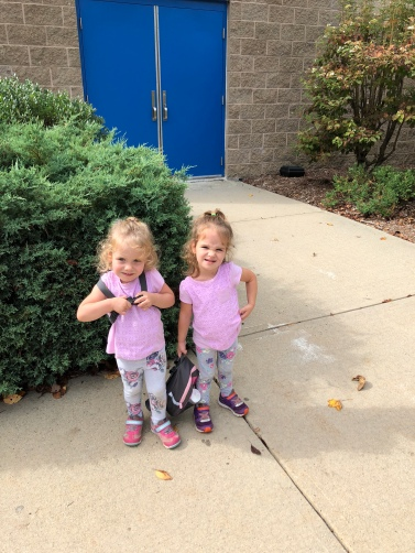 First day at preschool